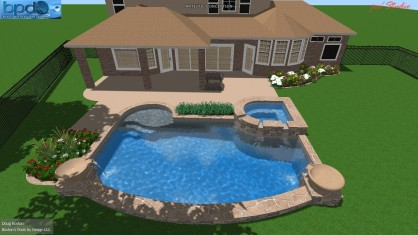 Pools By Design swimming pool design ideas luxury swimming pools by 2x best design winner nj download swimming pool Our Pool Is Semi Geometric And Compliments The Landscape Extremely Well The Wok Pot Spillways And Sheer Waterfall Are Great Additions To The Design